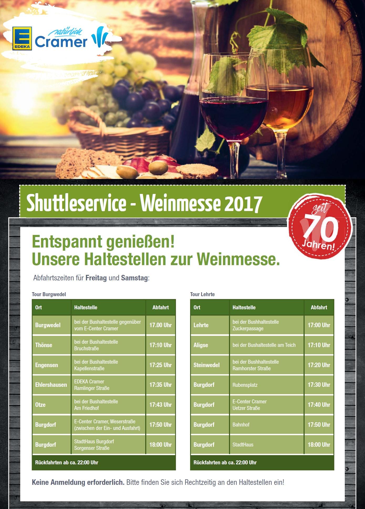 Edeka Cramer Weinmesse