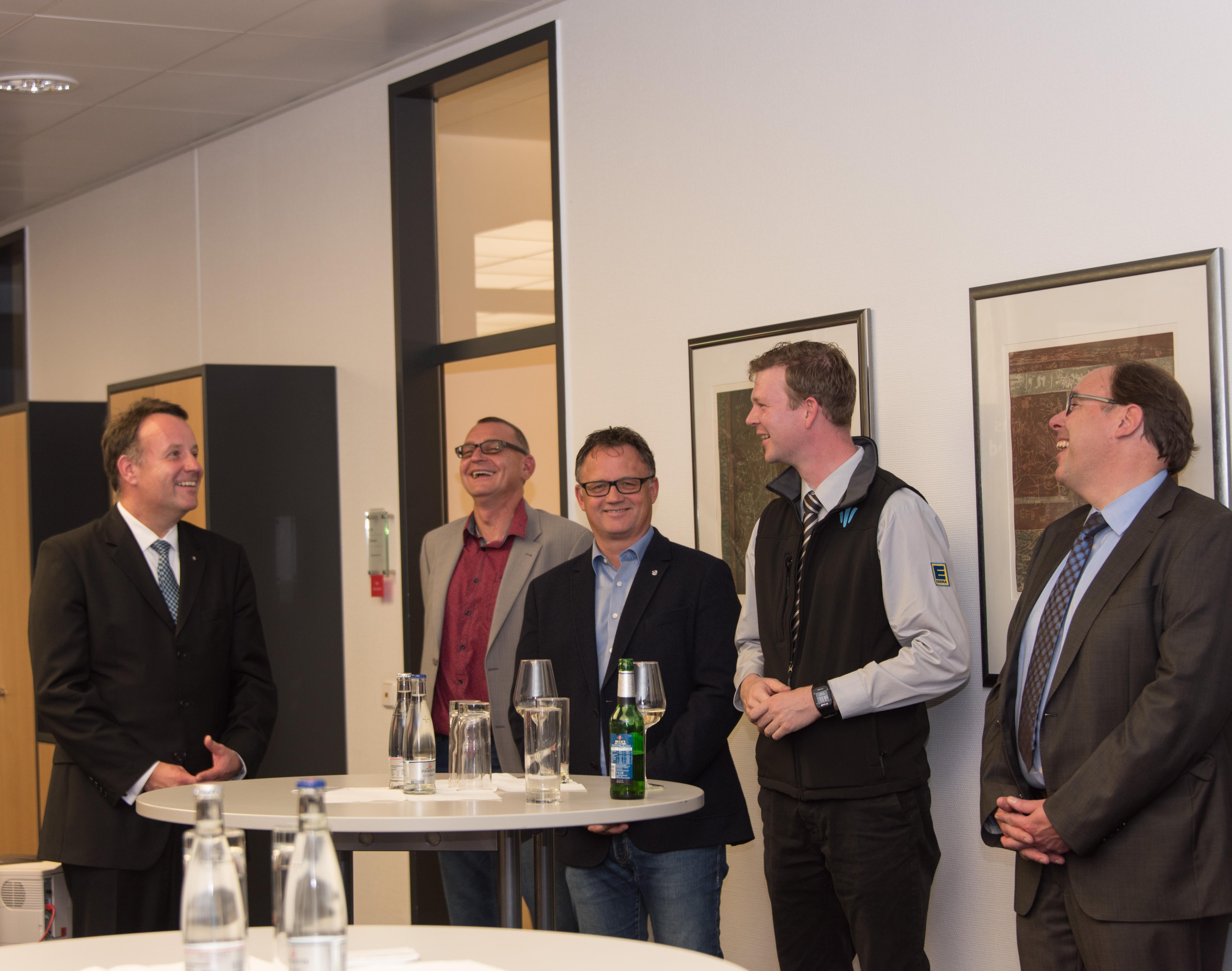 vl. Dirk Breuckmann, Thorsten Heinrich, Frank Leibelt, Sebastian Cramer, Gregor Schneider