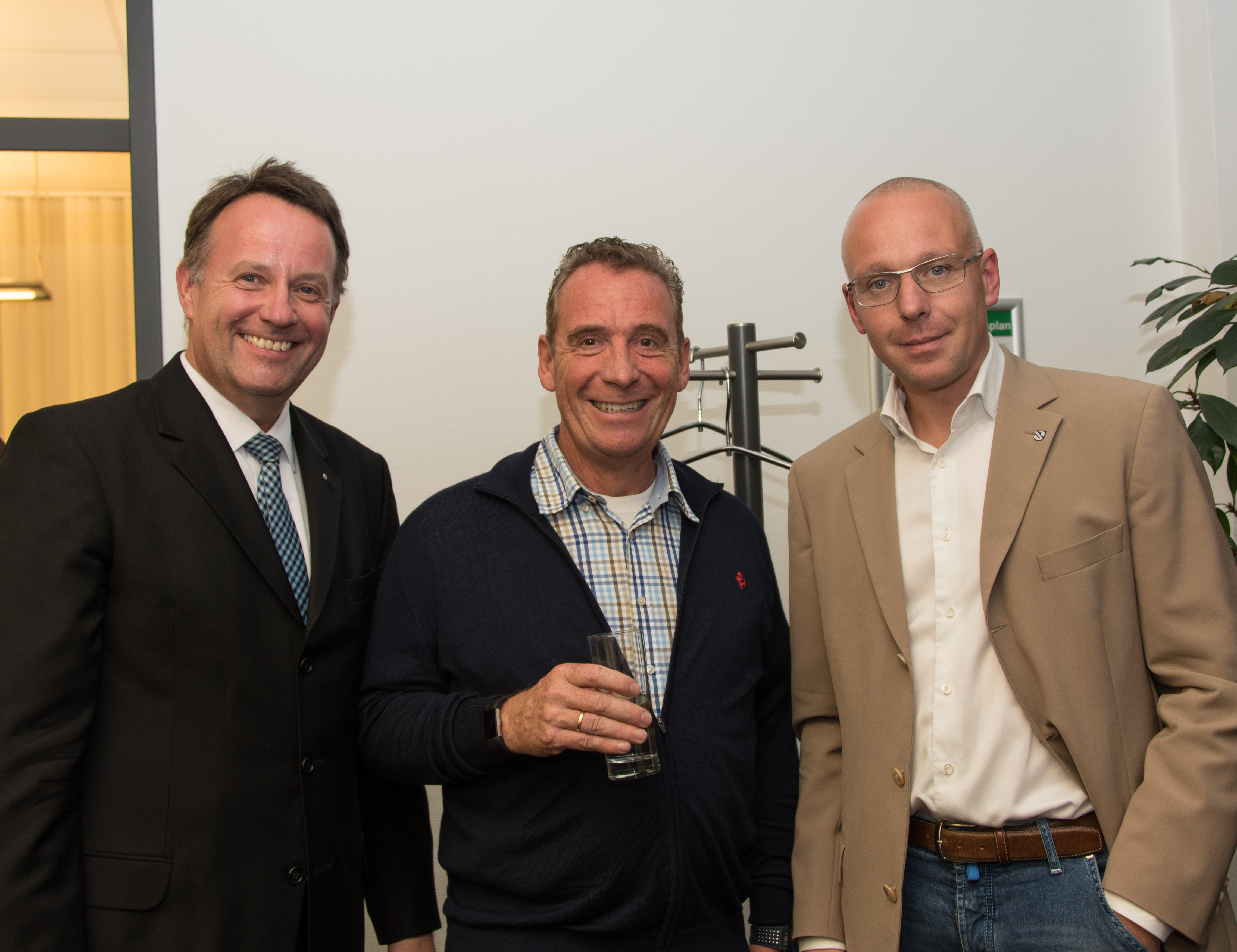 vl. Dirk Breuckmann, Jens Asmuth, Axel Düker