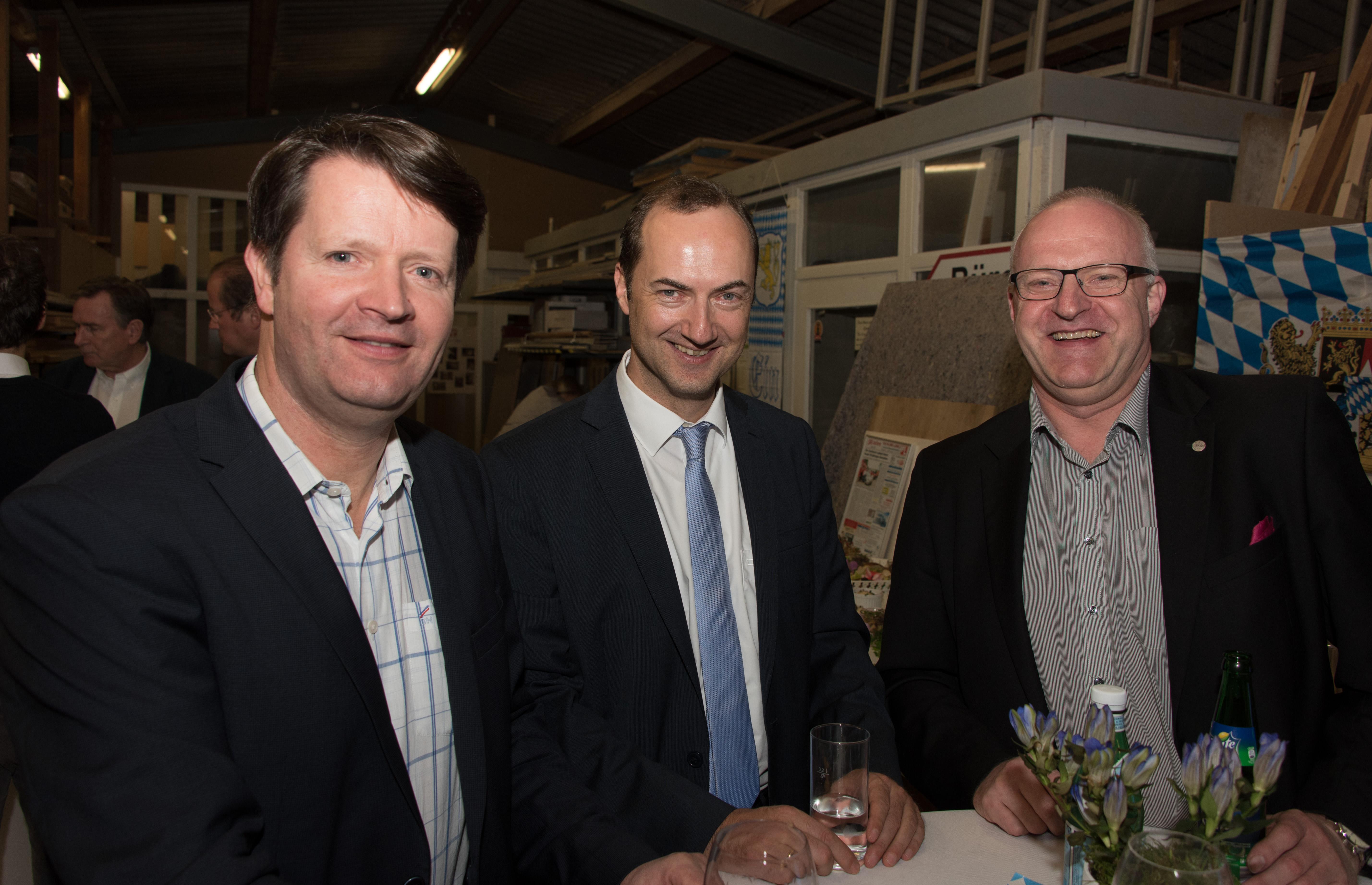 Casrten NIemann, Oliver Germs, Hubert Greinert