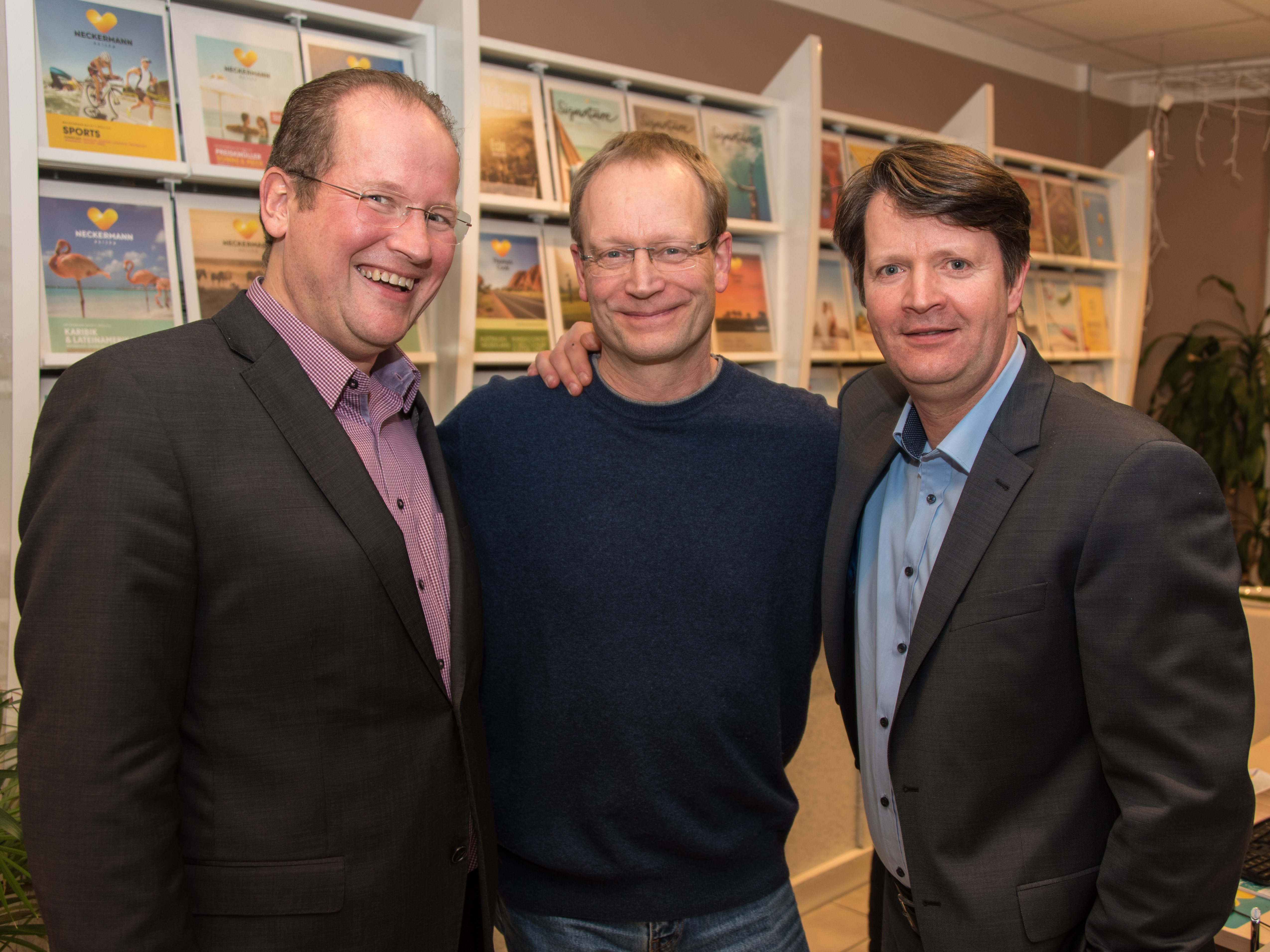 Marc Sinner, Rolf Fortmüller, Carsten Niemann