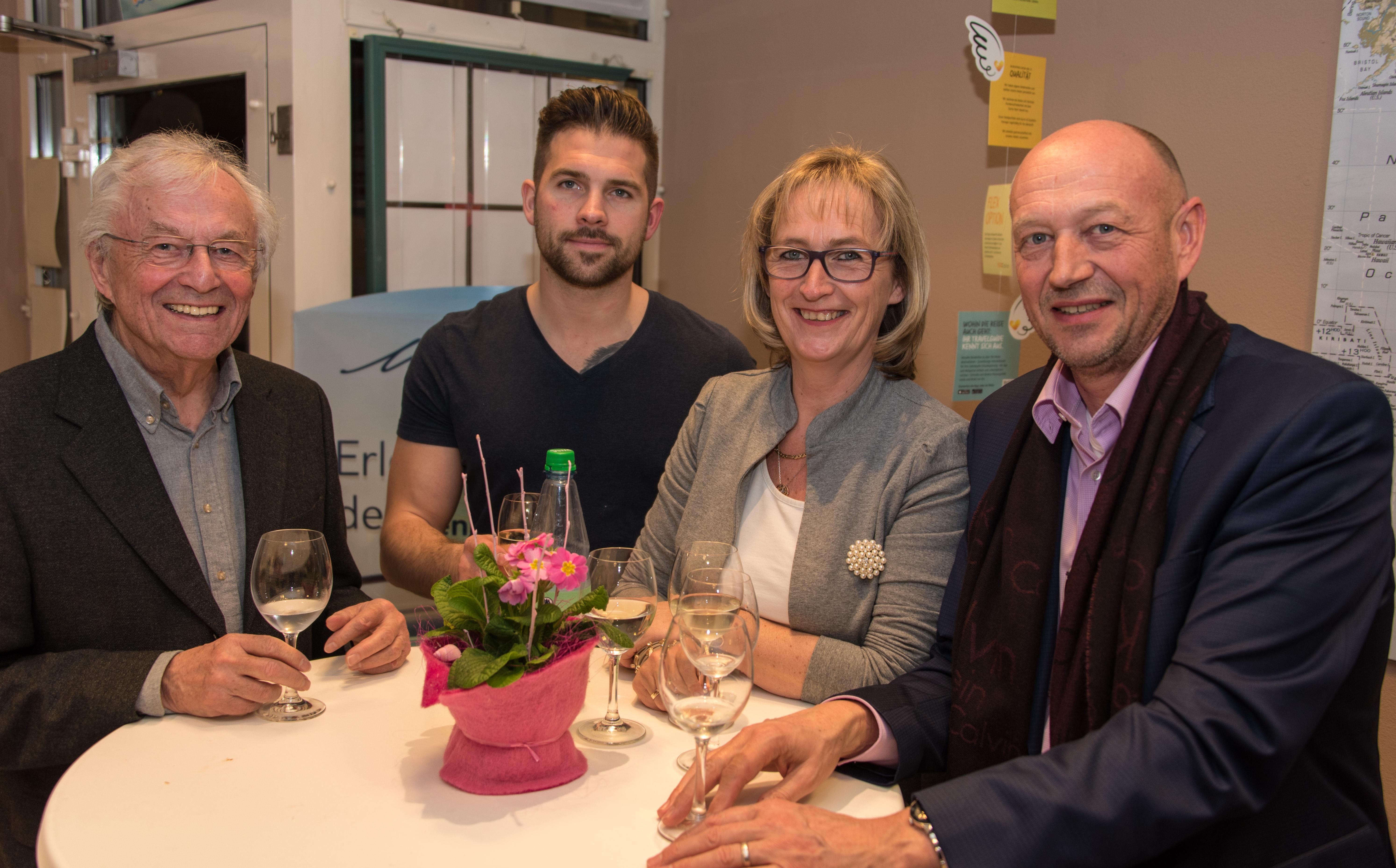 Rolf Range, Marco Klingenberg -Gast-, Gaby Keller, Rolf Gehle