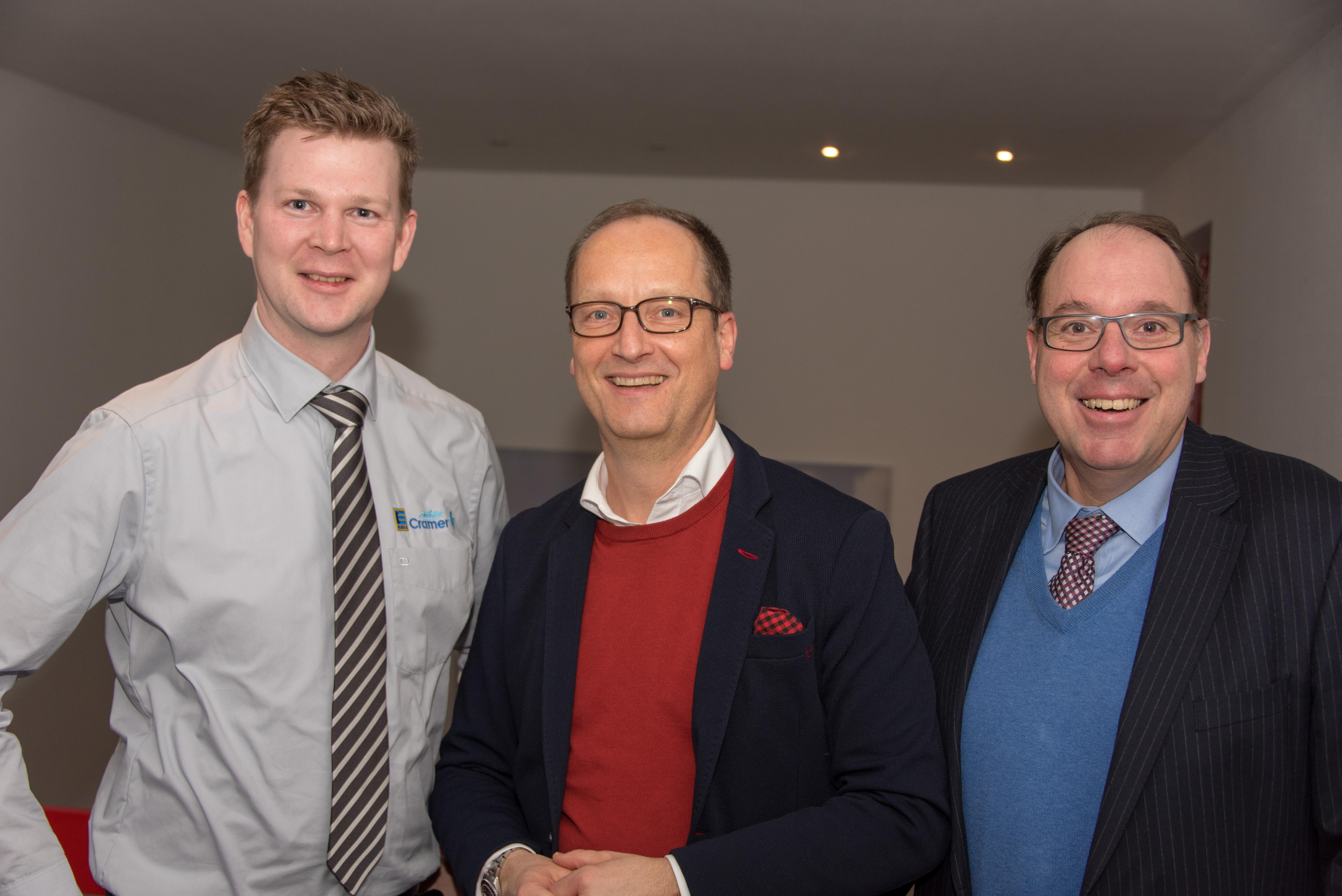 Sebastian Cramer, Christoph Ludwig, Gregor Schneider