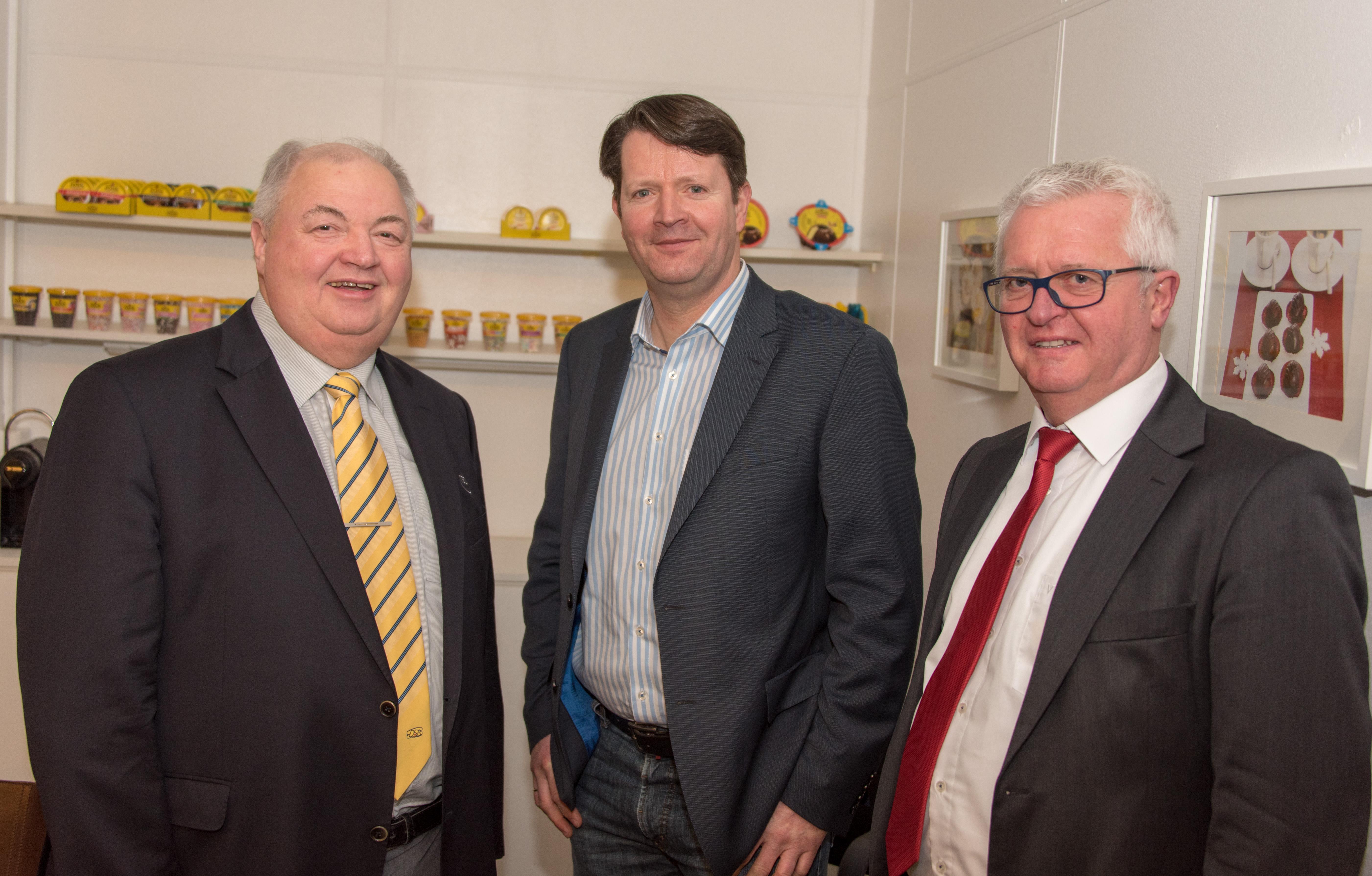 Joachim Brandt, Regionssportbund Hannover, Carsten Niemann, Harald Wemhöner, H.Pickerd