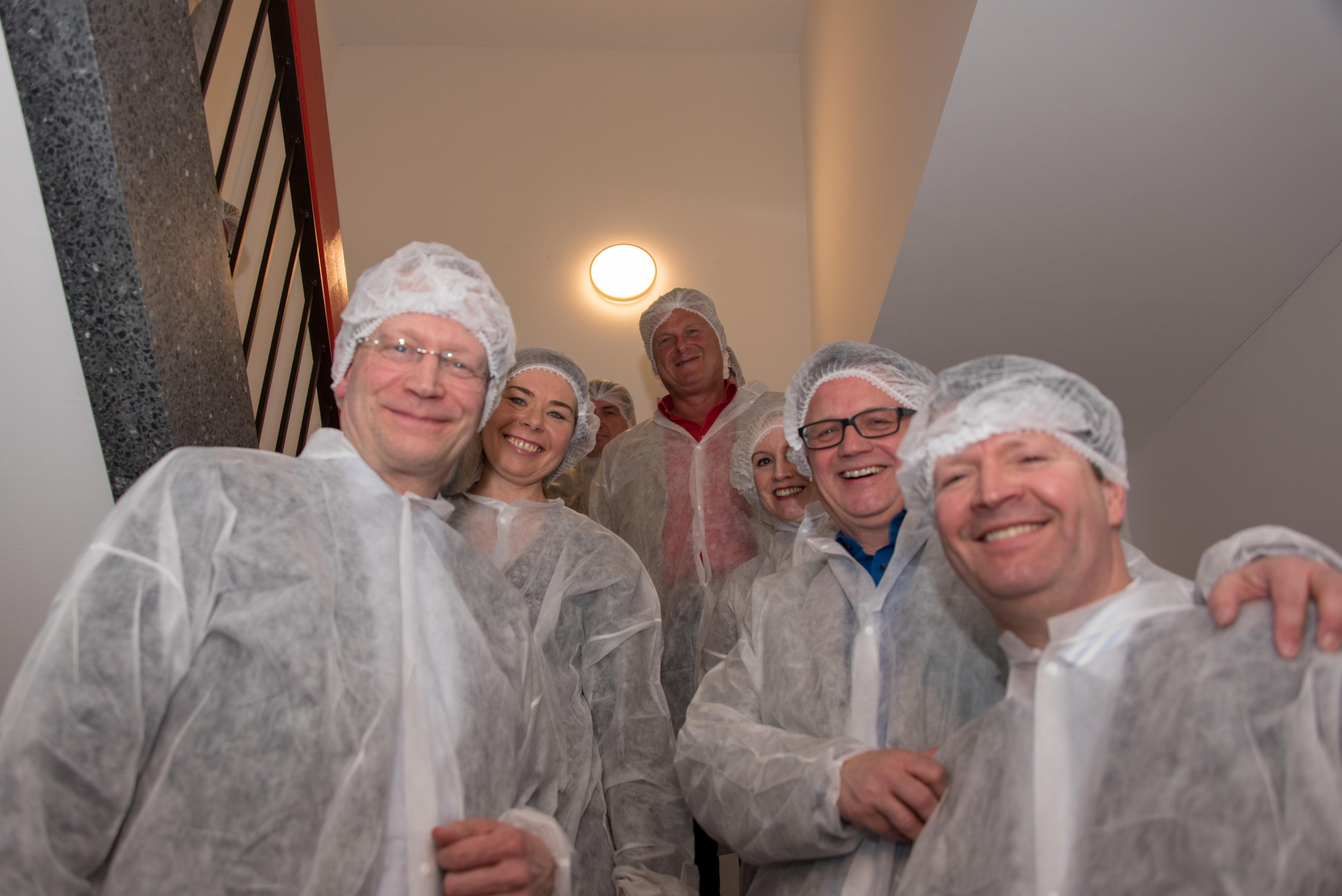 vl: Rolf Fortmüller, Vera Asmuth, Detlef Keller, Sabine Breuckmann, Frank Leibelt, Carsten Niemann
