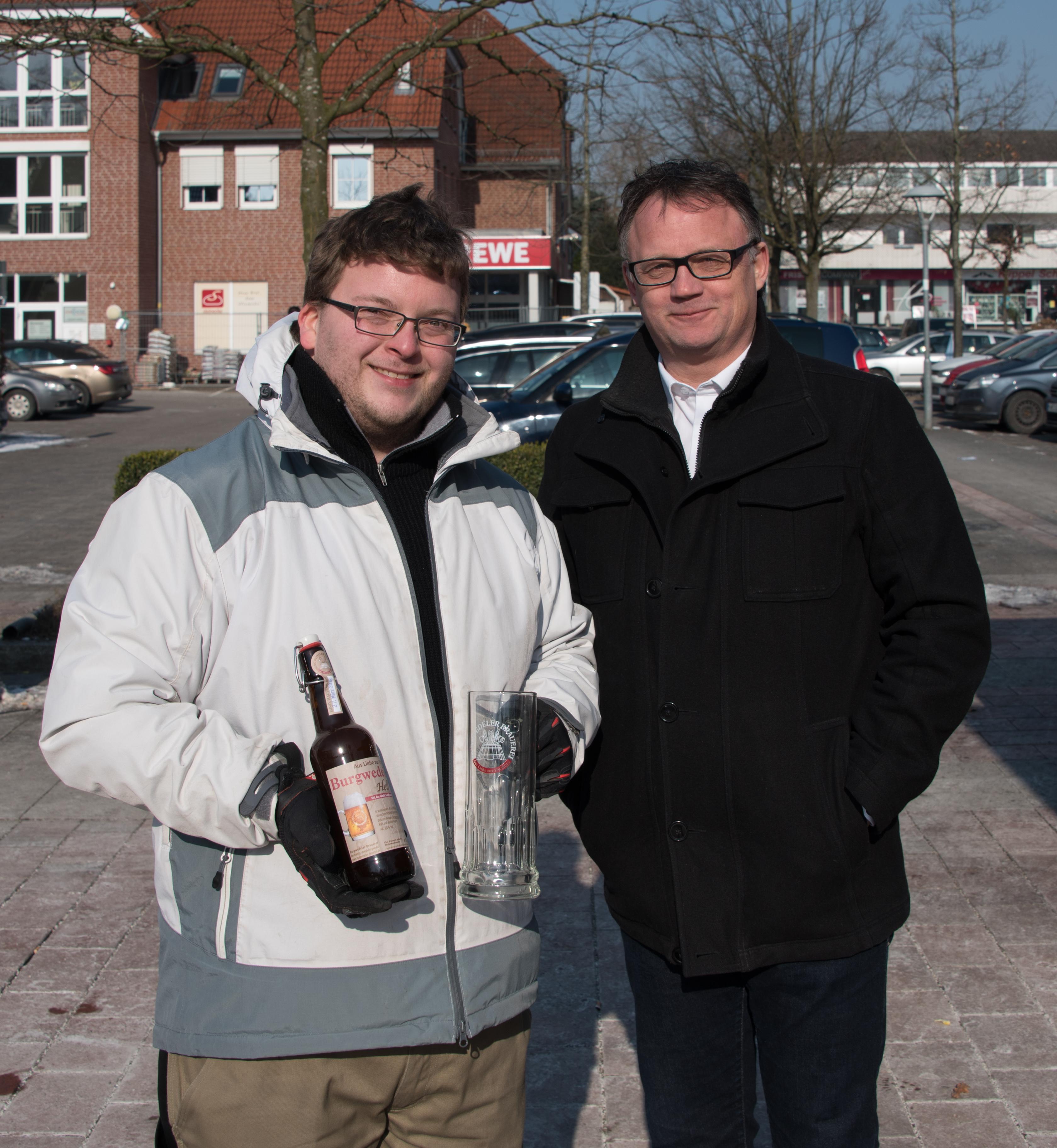 Auf dem Landmarkt: Burgwedeler Bier