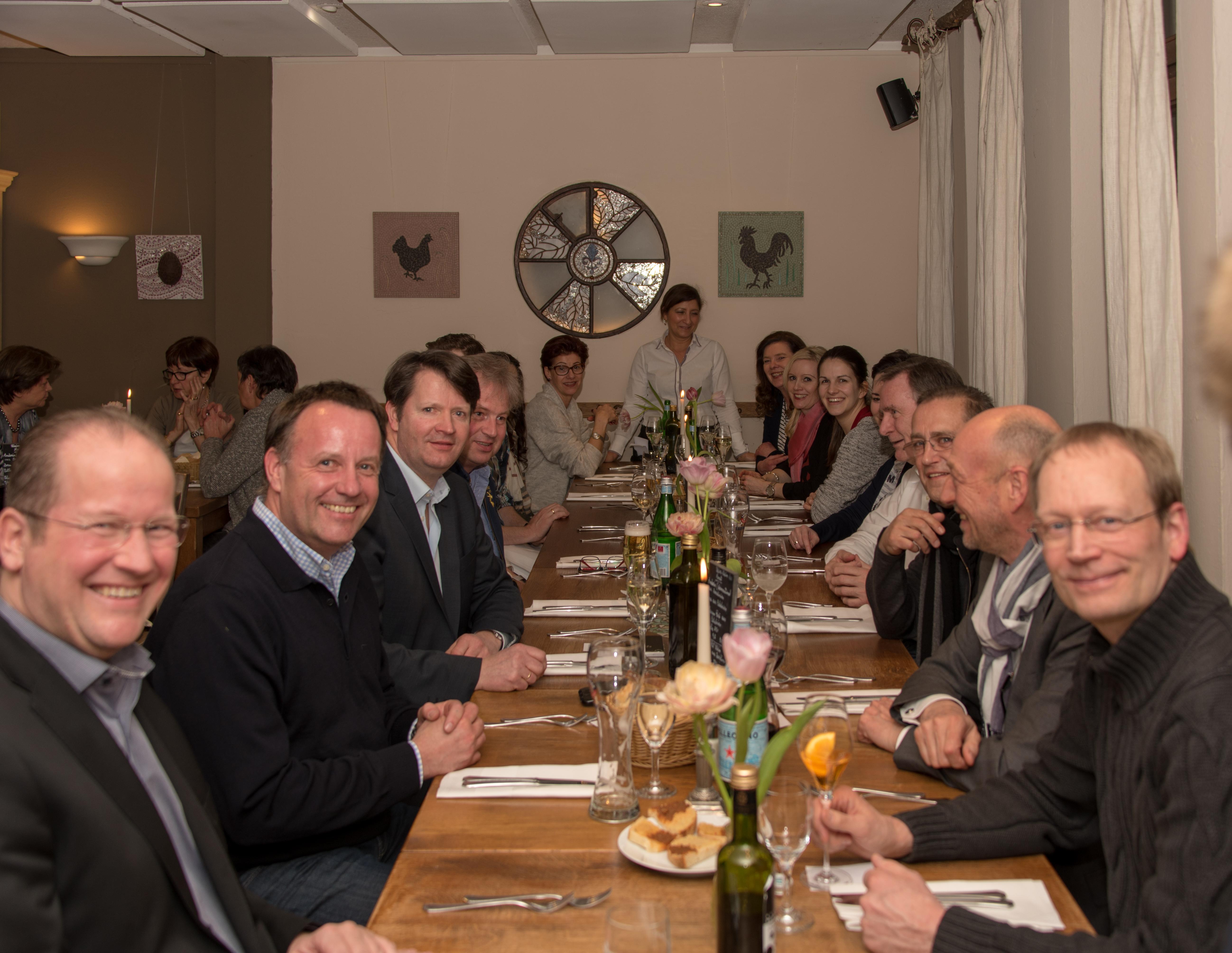 7. Netzwerktreffen in der Trattoria Pasta è Vino