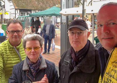vl. Frank Leibelt, Frieda Lehmann, Dieter Lehmann, Marc Sinner