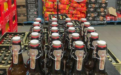Burgwedeler Bier bei Edeka Cramer