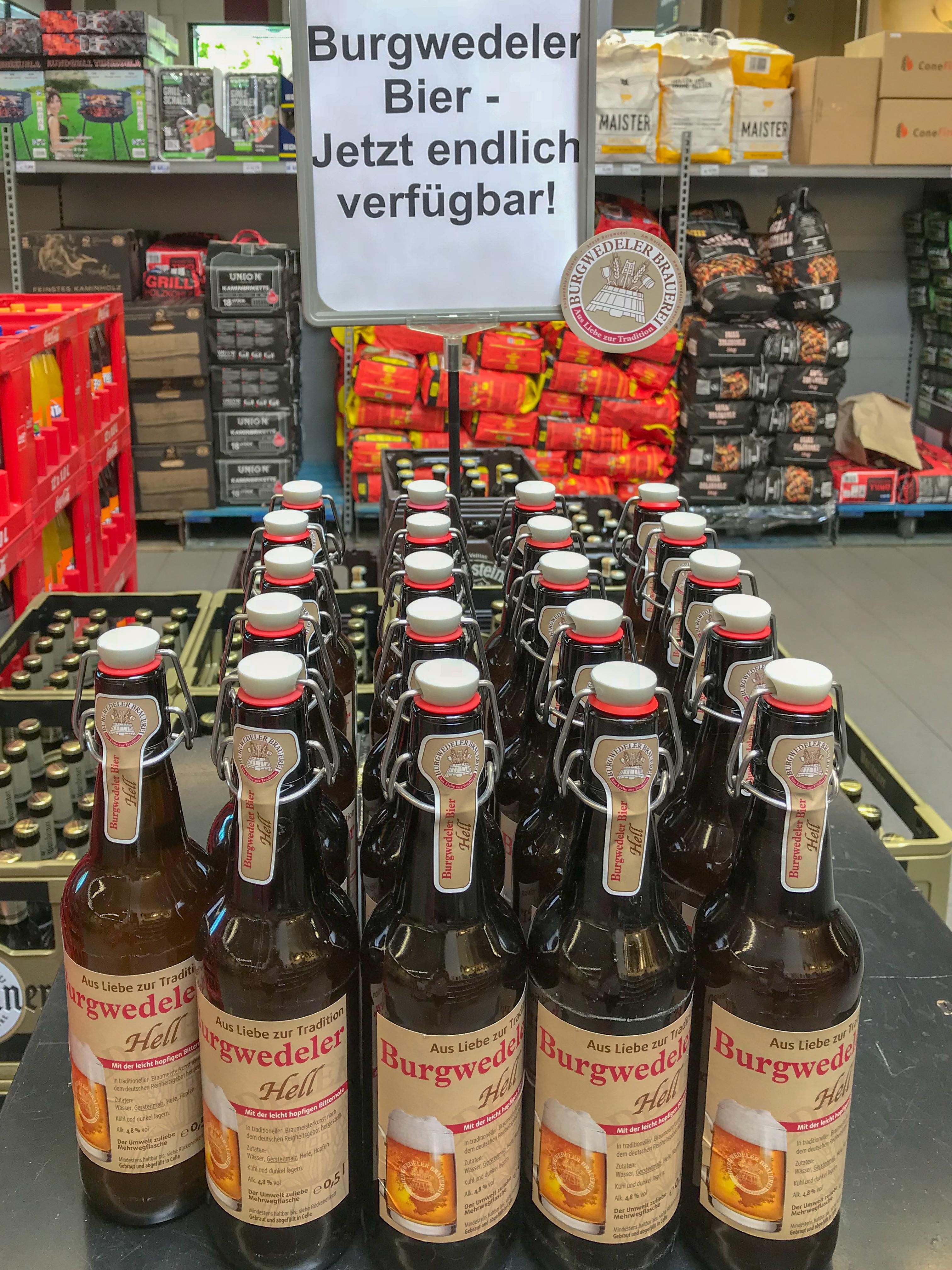 Burgwedeler Bier Bei Edeka Cramer Wib Burgwedel