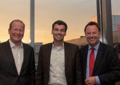vl. Marc Sinner, Peter Dreher, Dirk Breuckmann