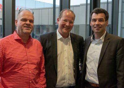 vl. Heiko Wöhler, Marc Sinner, Peter Dreher