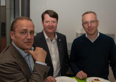 vl. Burghard Mohr, Carsten Niemann, Axel Düker