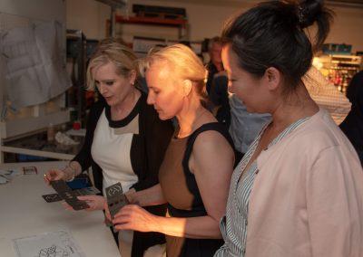 vl. Sabine Breuckmann, Bianca Rosenhagen, Ina Lochstampfer