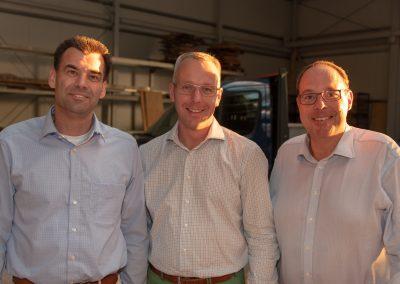 vl. Peter Dreher, Axel Düker, Gregor Schneider