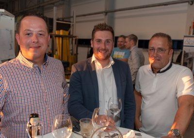 vl. Nils Wöhler, Alexander Jeschke, Burkhard Mohr