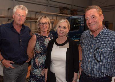 vl. Detlef und Gaby Keller, Sabine Breuckmann, Jens Asmuth