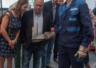 Anna-Janina Niebuhr, Ulf Meldau, Lars Raue  im Vordergrund