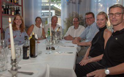 Sommernetzwerken in der Trattoria Pasta è Vino