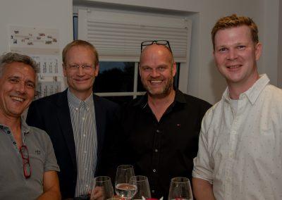vl Arne Rosenovski, Rolf Fortmüller, Heiko Wöhler, Sebastian Cramer