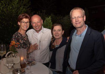 vl. Petra Gehle, Rolf Gehle, Ilona Niemann, Rolf Fortmüller