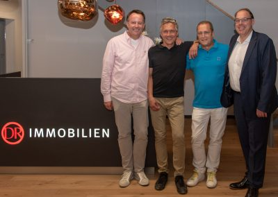 vl. Dirk Breuckmann, Arne Rosenowski, Burghard Mohr, Gregor Schneider