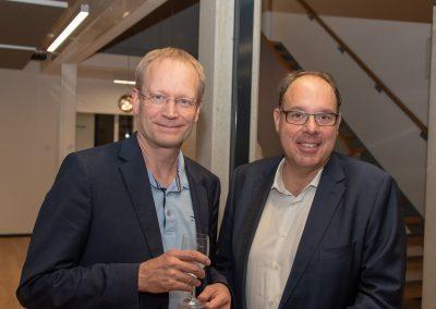 vl. Rolf Fortmüller, Gregor Schneider