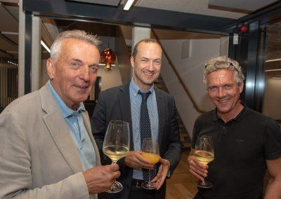 vl. Jürgen Werner, Oliver Germs, Arne Rosenowski