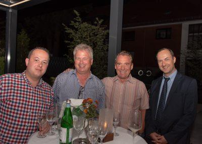 vl. Nils Wöhler, Uwe Rogge, Jens Asmuth, Oliver Germs