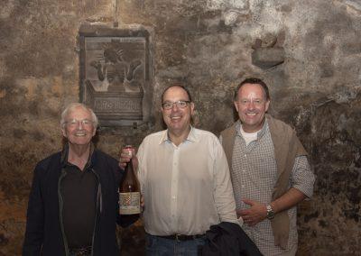 vl. Rolf Range, Gregor Schneider, Dirk Breuckmann