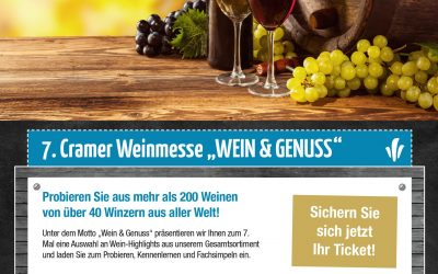 Weinmesse Edeka Cramer am 03.11.2018