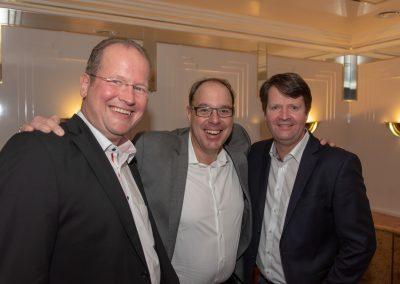 vl. Marc Sinner, Gregor Schneider, Carsten NIemann