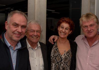 vl. Enrico Schulz, Rolf Ranke, Petra Gehle, Detlef Keller