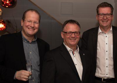 vl. Marc Sinner, Frank Leibelt, Hartmut Westphal