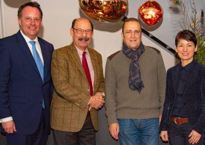 vl. Dirk Breuckmann, Michael Fürst, Burghard Mohr, Jasmin Arbabian-Vogel