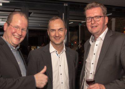 vl. Marc Sinner, Oliver Germs, Hartmut Westphal