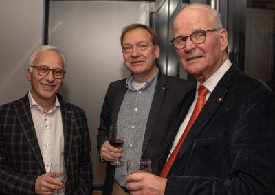 vl. Dr. Said Befar, Wolfgang Greite, Dr. Knut Funke