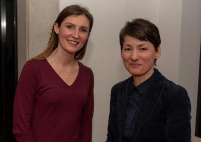 vl. Cornelia Körber, Jasmin Arbabian-Vogel