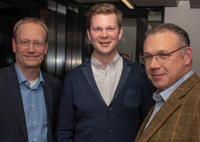 vl. Rolf Fortmüller, Sebastian Cramer, Oliver Preuß