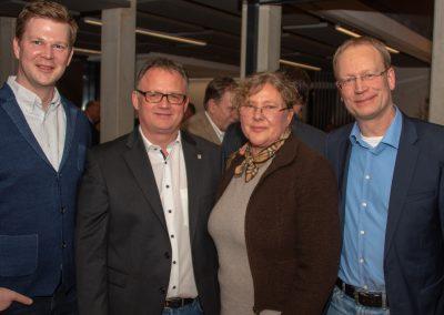 vl. Sebastian Cramer, Frank Leibelt, Gudrun Heuer, Rolf Fortmüller