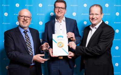 Exzellente Auszeichnung verliehen an Marc Sinner und Hartmut Westphal