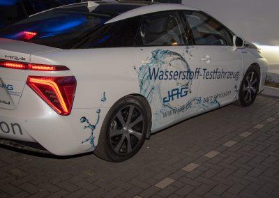 Wasserstoff Fahrzeug