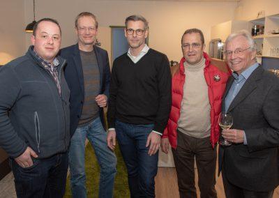 vl. Nils Wöhler, Rolf Fortmüller, Sascha Ballhausen, Burghard Mohr, Rolf Range
