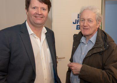 vl. Carsten Niemann, Hans-Jürgen Galler