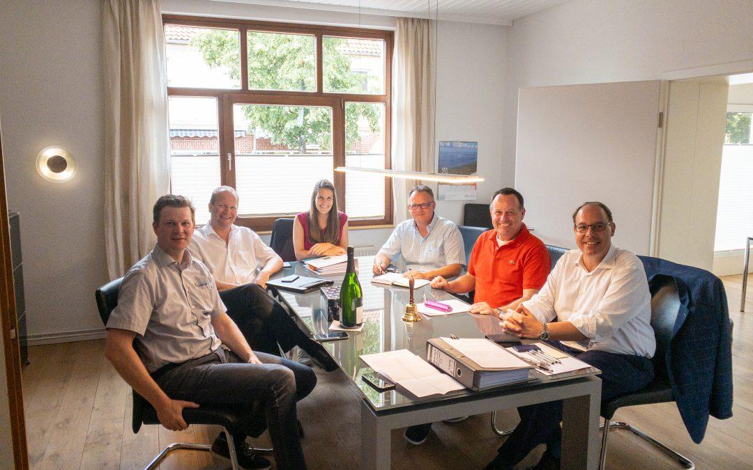Konstituierende Vorstandssitzung