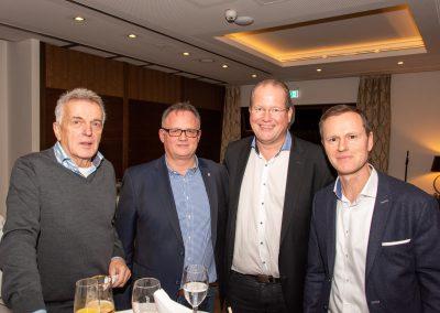 vl. Jürgen Werner, FRank Leibelt, Marc Sinner, Markus Hauke