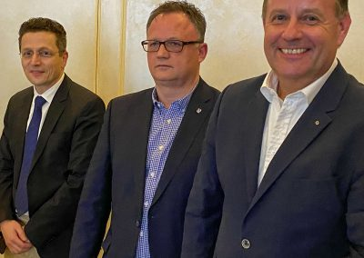 vl. Thorsten Sander, Frank Leibelt, Dirk Breuckmann