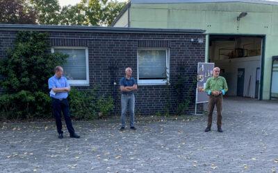 WIB besucht Bauhof Großburgwedel